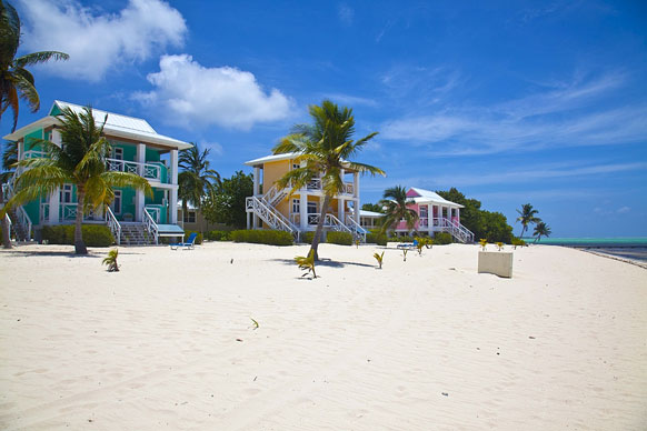 beach cottages on Little Cayman