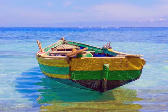fishing boat near Labadee
