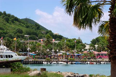 Harbor at Marigot, Sint Martin, Netherlands Antilles