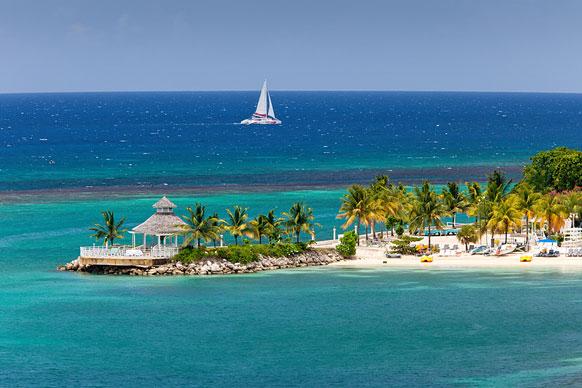 caribbean island peninsula