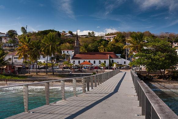 village in Martinique