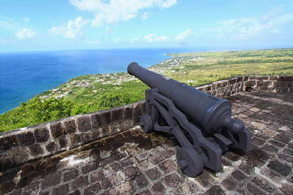 cannon at Brimstone Hill Fortress